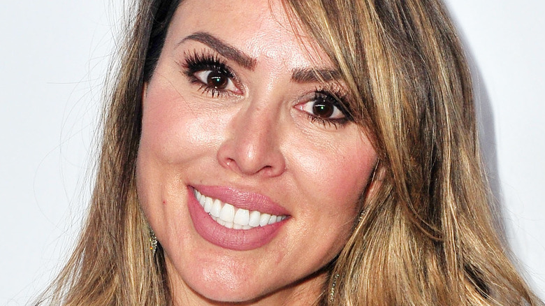 Kelly Dodd on the red carpet
