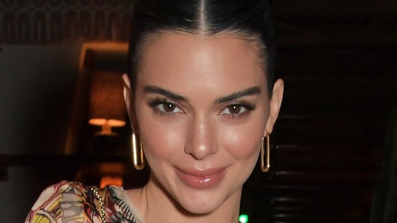 Kendall Jenner love magazine event