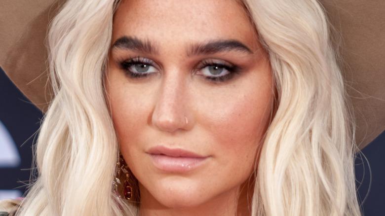 Kesha staring
