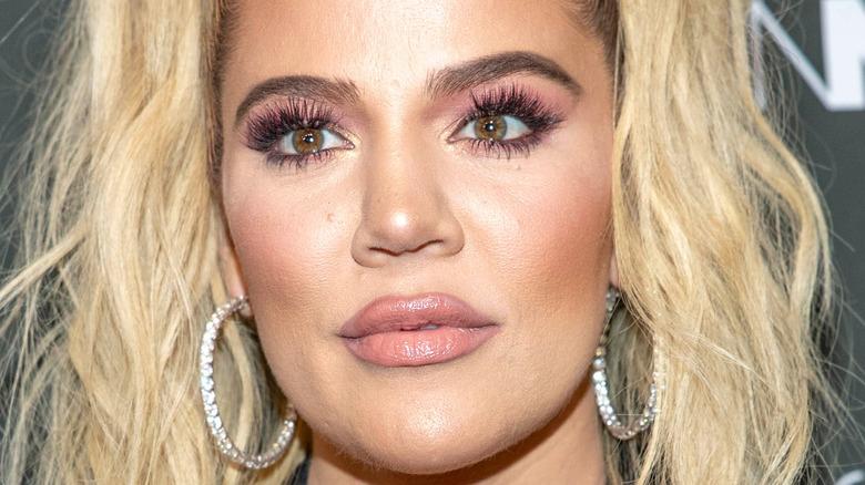 Khloe Kardashian at event