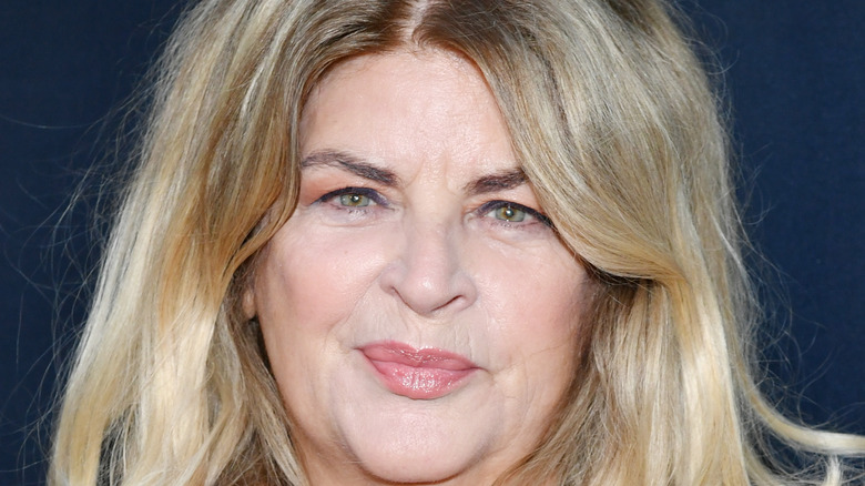 Kristie Alley smiles on red carpet