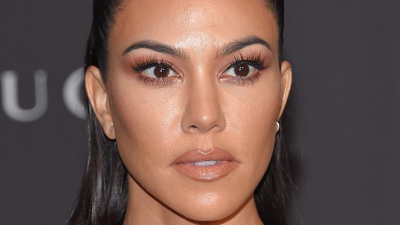Kourtney Kardashian at an event