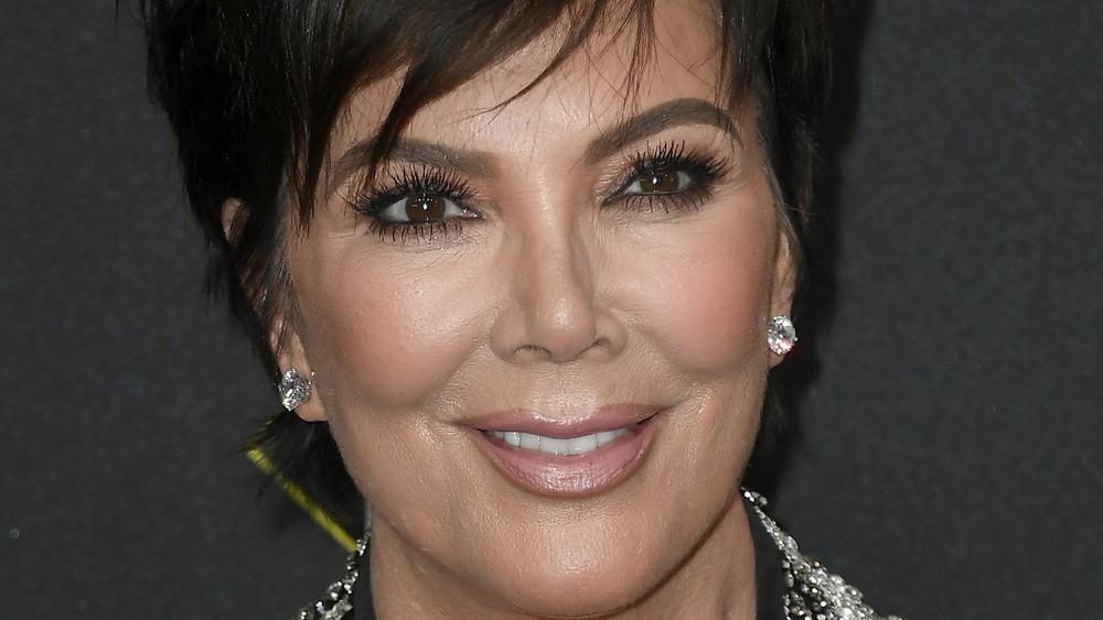 Kris Jenner smile