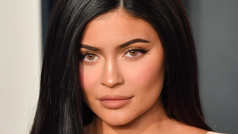 Kylie Jenner appears at the 2020 Vanity Fair Oscar party
