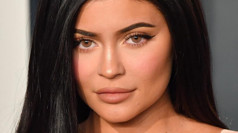 Kylie Jenner arrives at the 2020 Vanity Fair Oscar Party