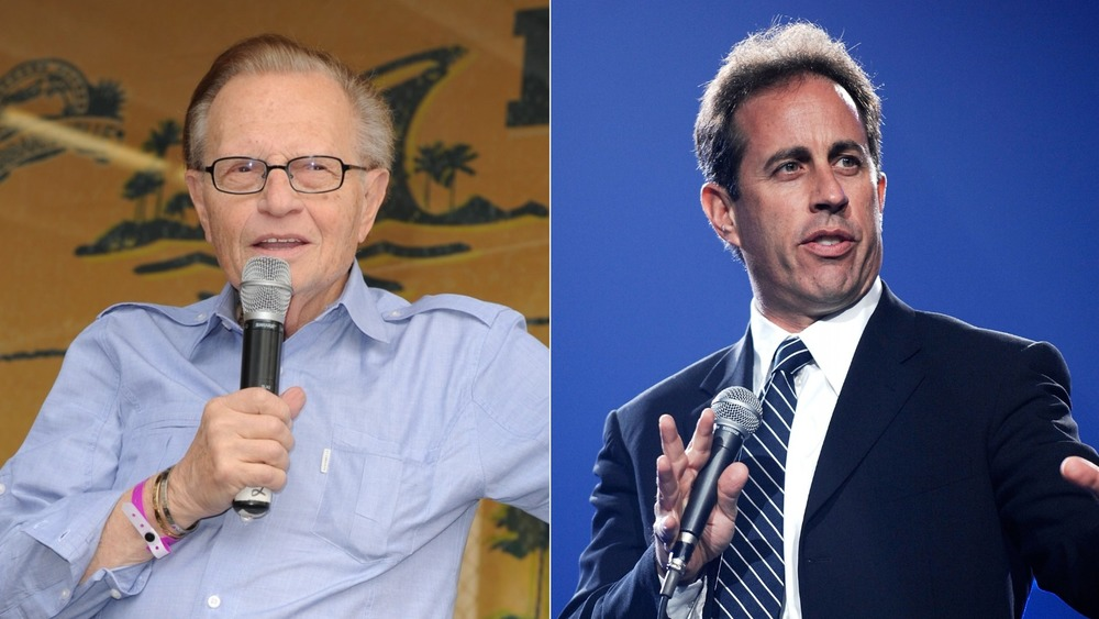 Larry King and Jerry Seinfeld