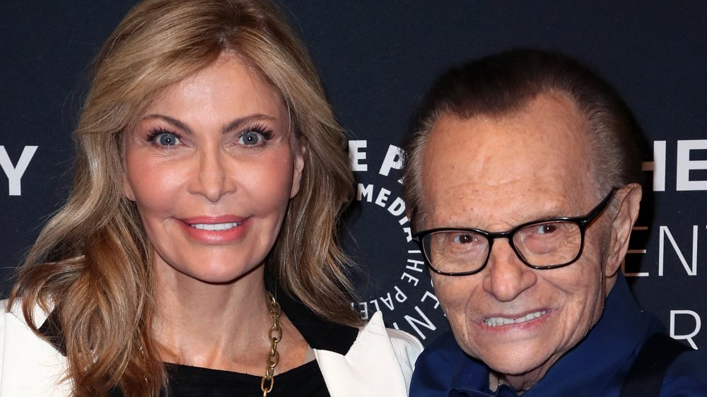 Shawn King (L) and TV host Larry King attend A Special Evening With Dionne Warwick: Then Came You presented by The Paley Center for Media