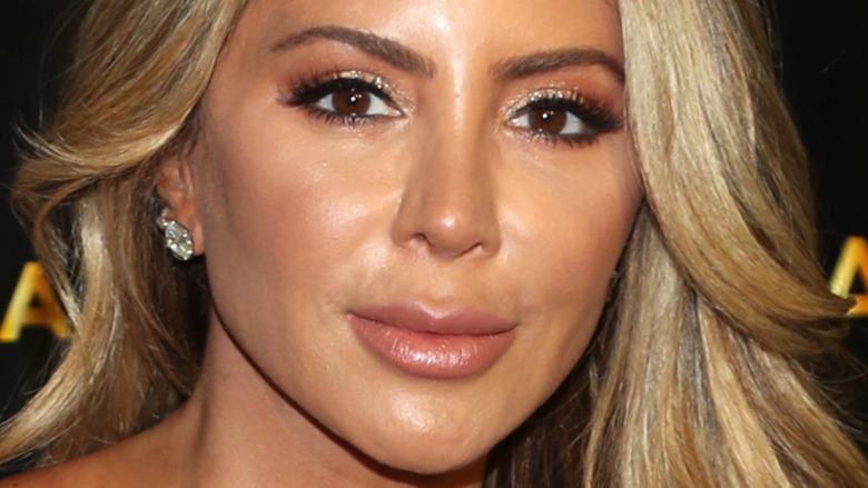 Larsa Pippen with a neutral expression