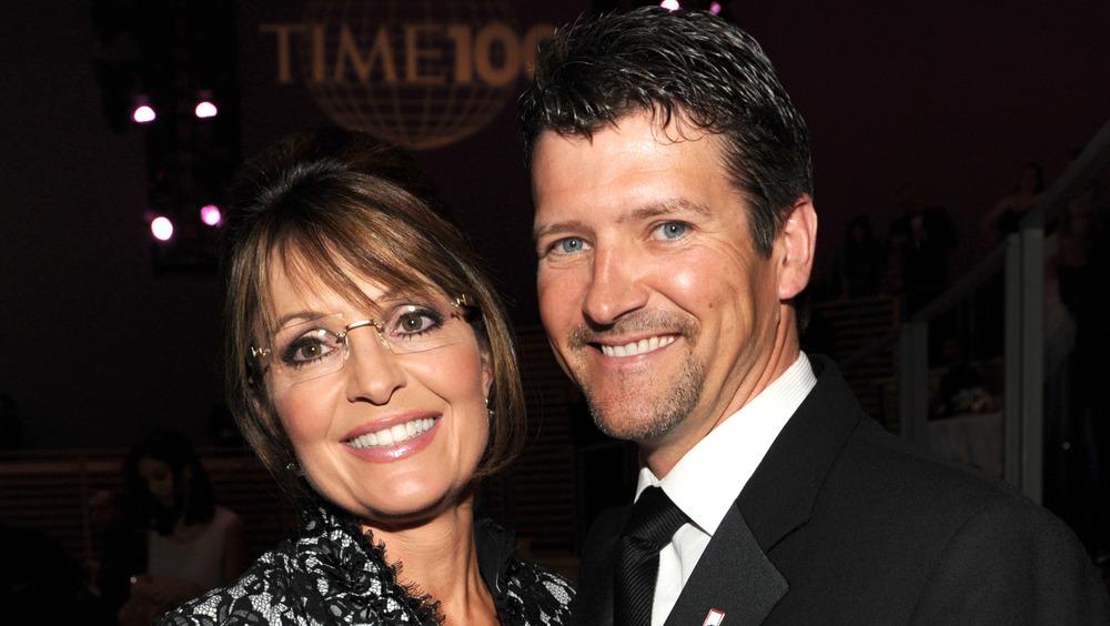 Sarah and Todd Palin smiling