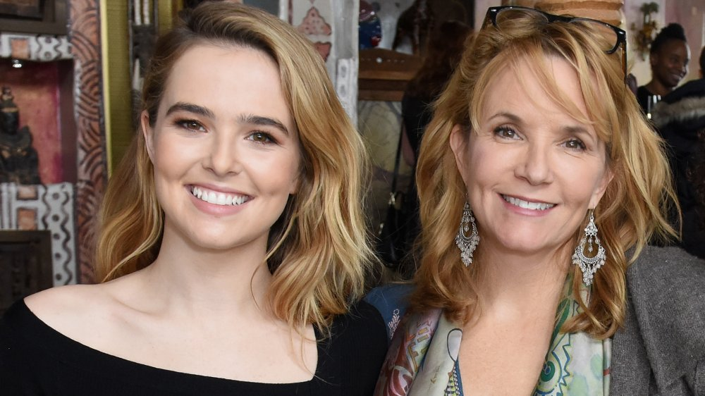 Zoey Deutch and mom Lea Thompson