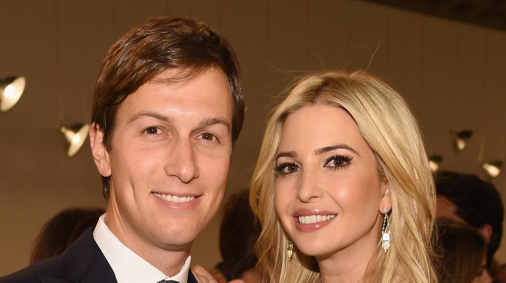 Jared Kushner and Ivanka Trump at a party