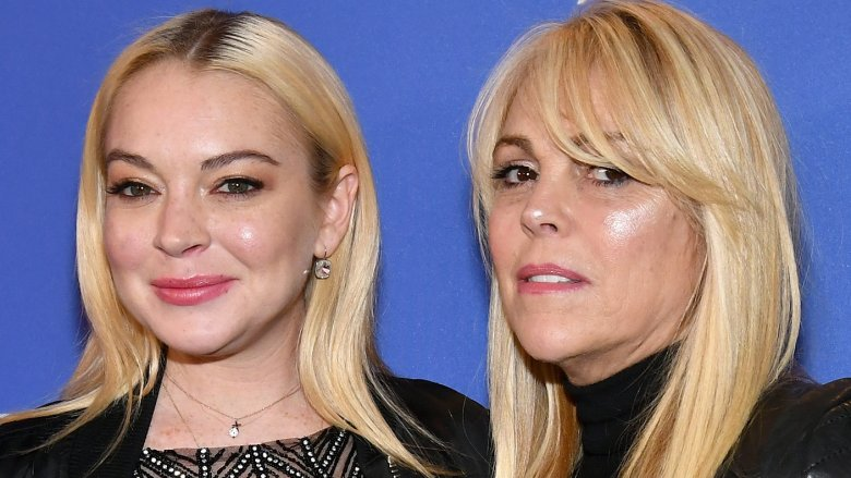 Lindsay Lohan and Dina Lohan
