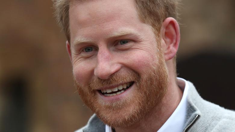 Prince Harry laugh