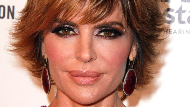 Lisa Rinna on the red carpet
