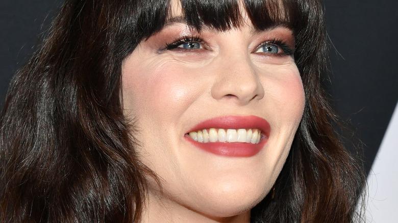 Liv Tyler smiling
