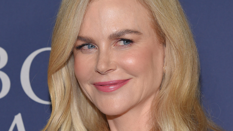 Nicole Kidman smiles on the red carpet