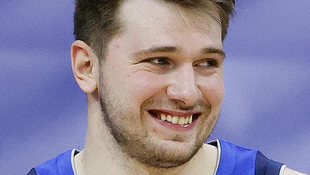 Luka Dončić smiling