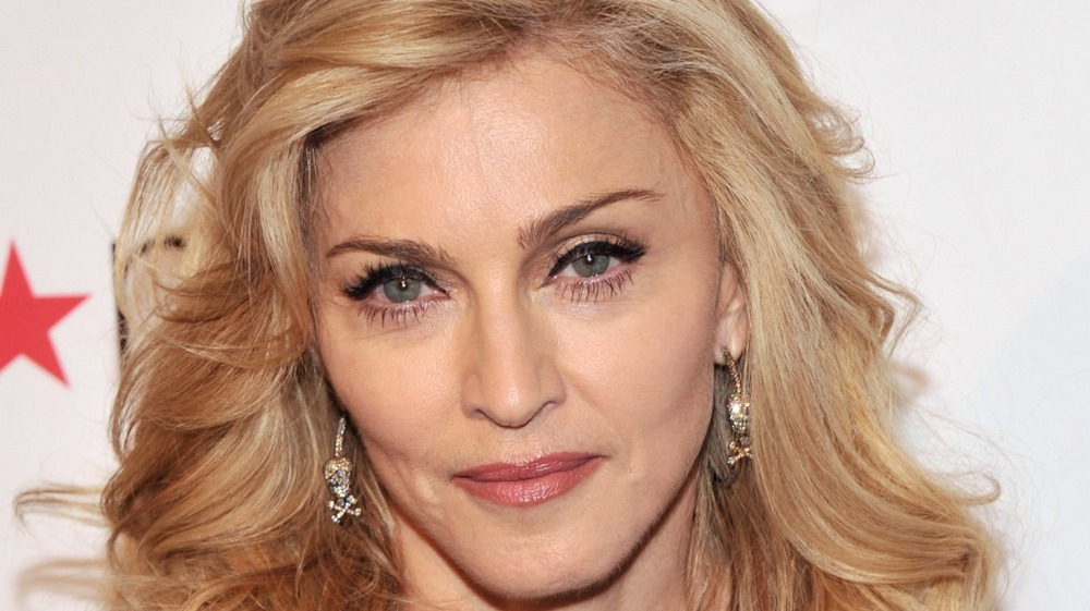 """Singer Madonna Launches Her Signature Fragrance """"Truth Or Dare"""" in 2012"""