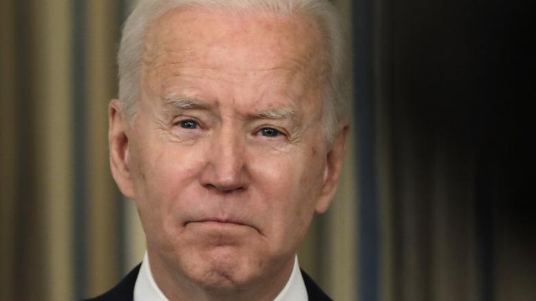 Joe Biden speaking on the implementation of the American Rescue Plan
