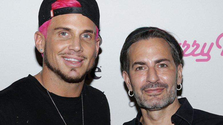 Marc Jacobs and Char Defrancesco