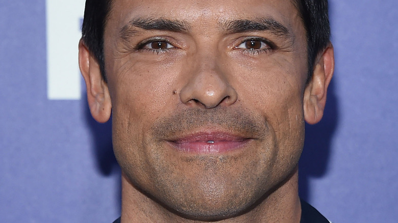 Mark Consuelos on the red carpet