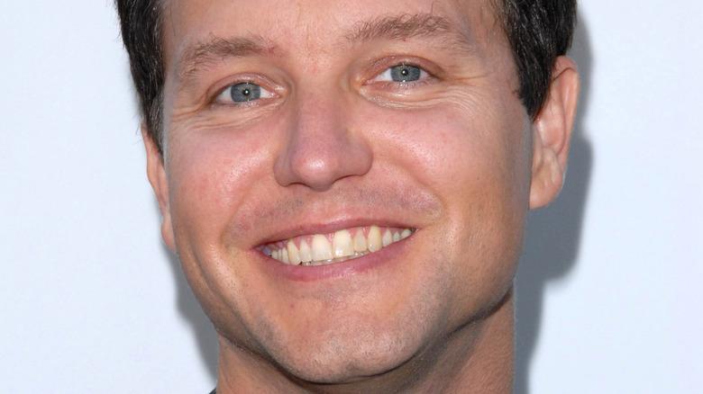Mark Hoppus smiling