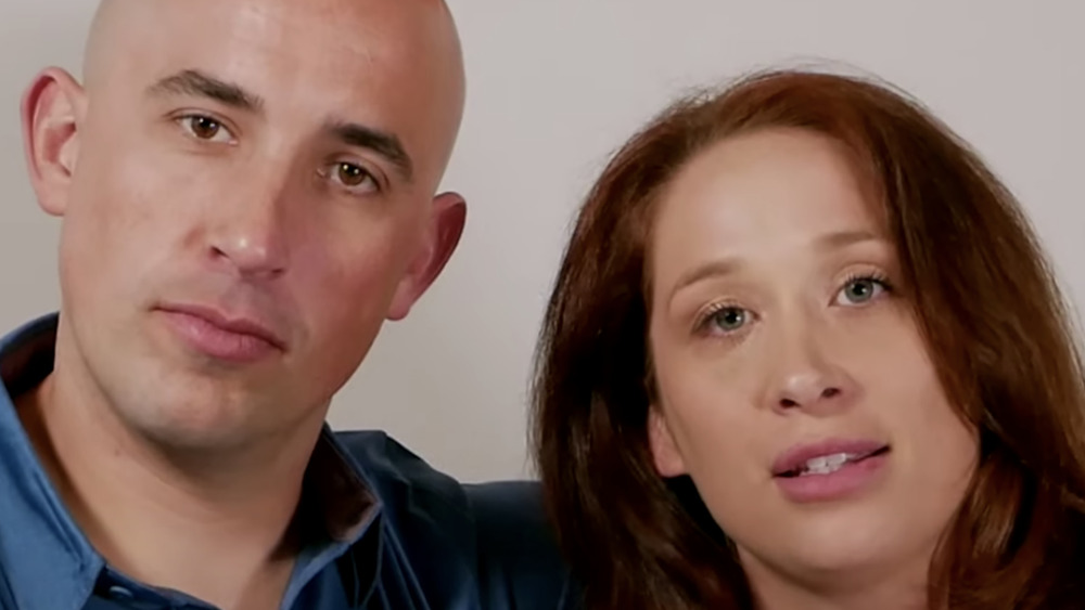 Jamie Thompson and Elizabeth Bice from Married at First Sight: Couples Cam
