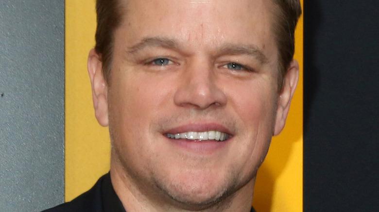 Matt Damon smile
