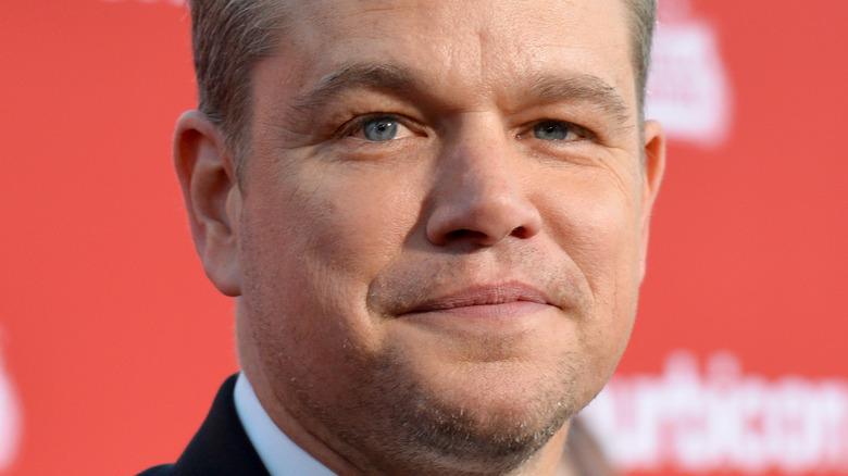 Matt Damon attends an event