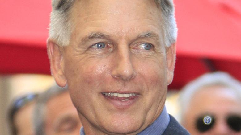 Mark Harmon smiling red carpet