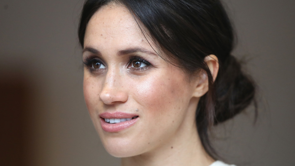 Meghan Markle attends the Commonwealth Day service in 2020