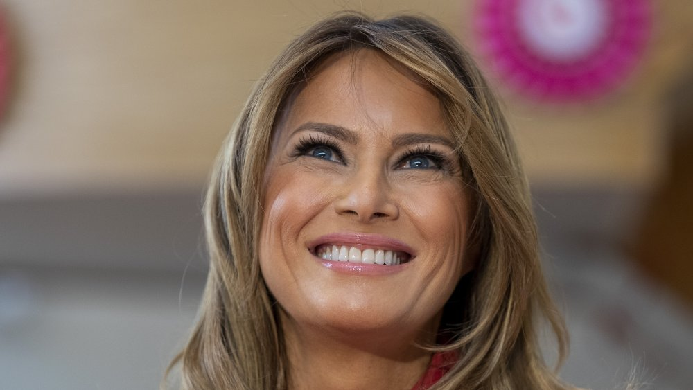Melania Trump smiling