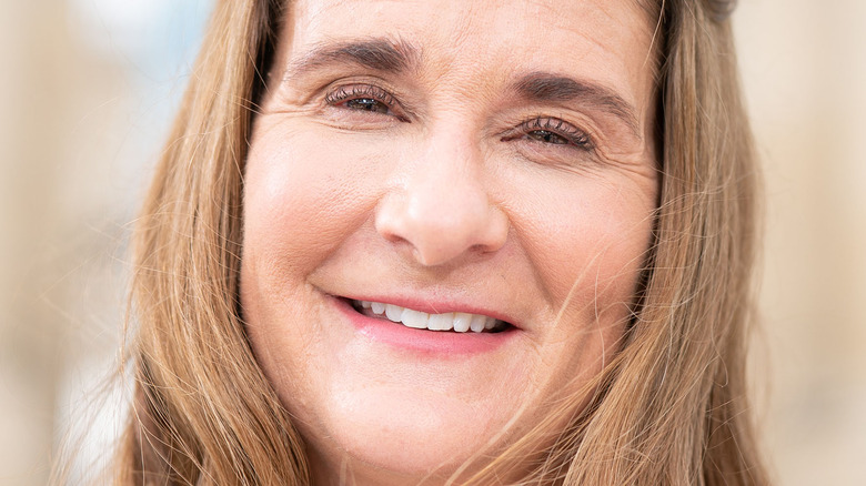 Melinda Gates smiling