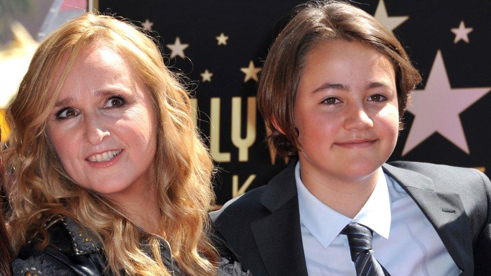 Melissa Etheridge with son Beckett