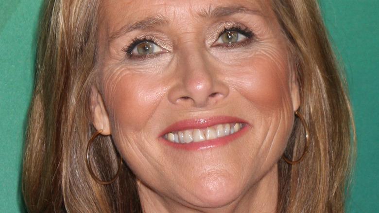 Meredith Vieira smiles on red carpet
