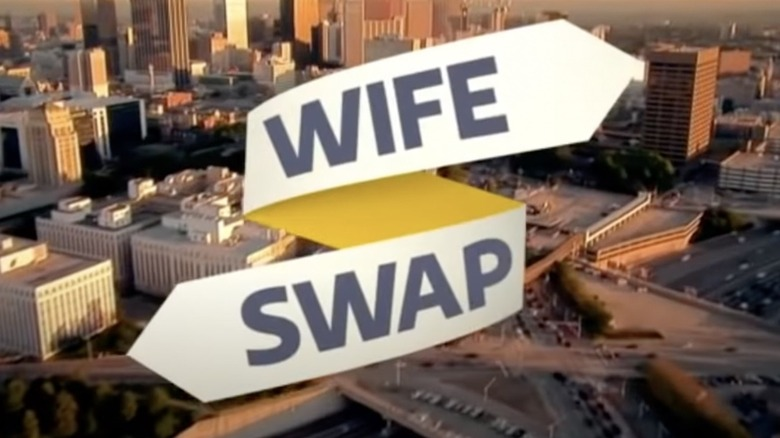 """Wife Swap"" title card"