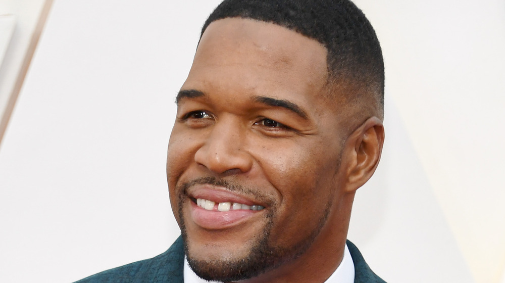 Michael Strahan at the Academy Awards in 2020