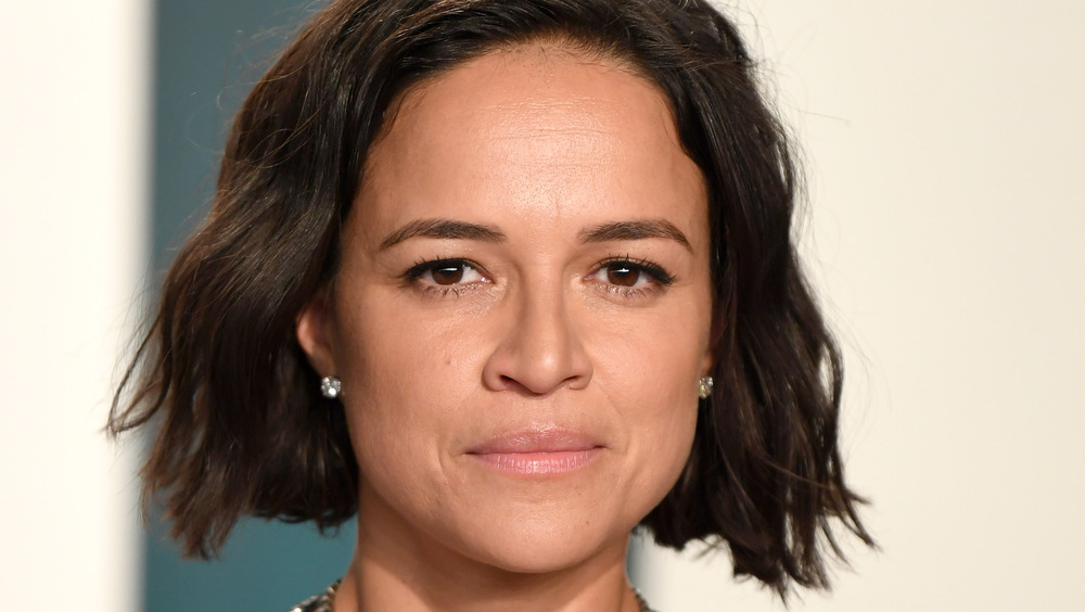 Michelle Rodriguez on red carpet