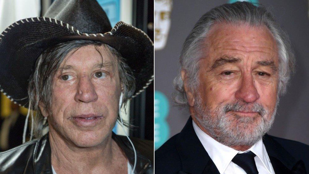 MIckey Rourke and Robert De Niro