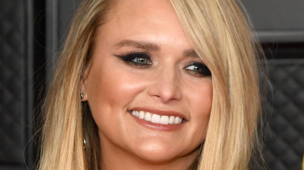 Miranda Lambert smiling at an event