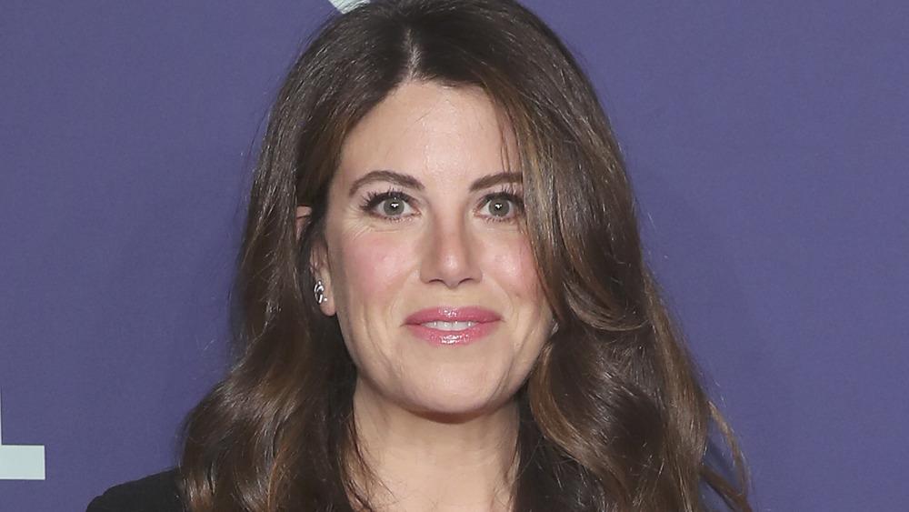 Monica Lewinsky close-up