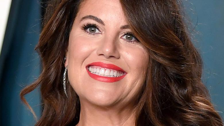Monica Lewinsky smiling in 2020