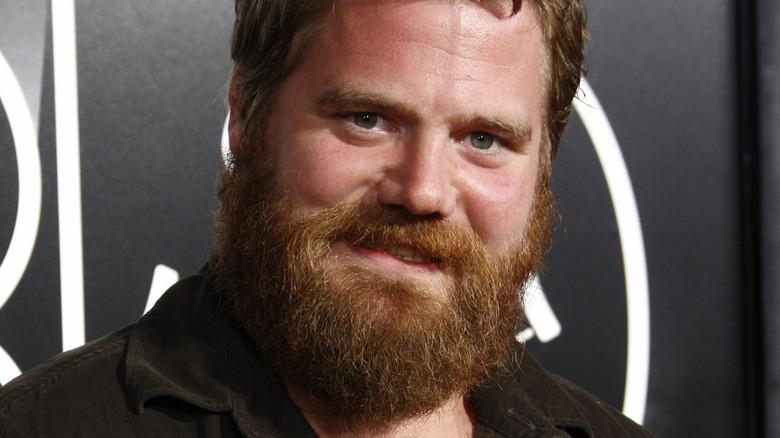Ryan Dunn smiling