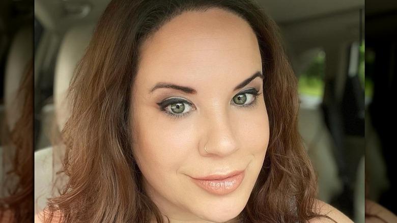 Whitney Way Thore, car selfie, smiling