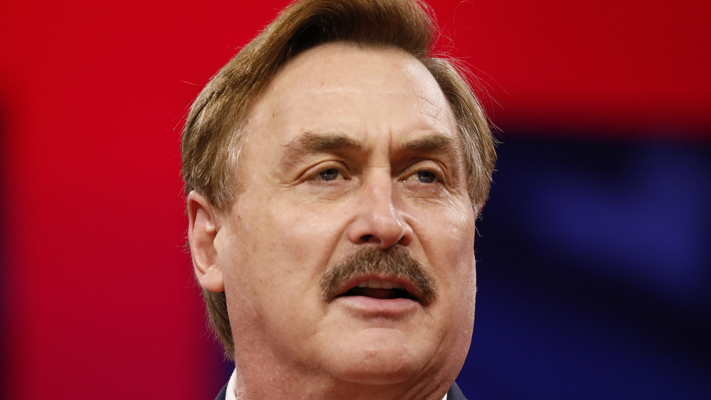 Mike Lindell, speaking