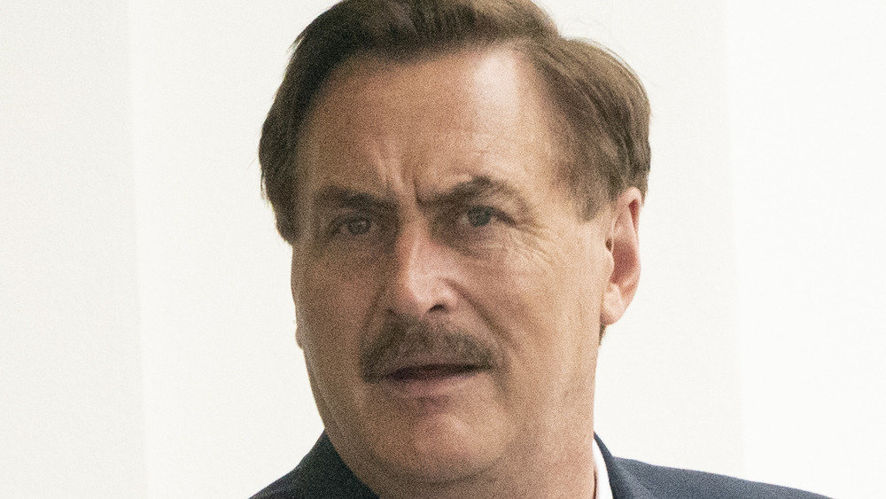Mike Lindell outside of the White House