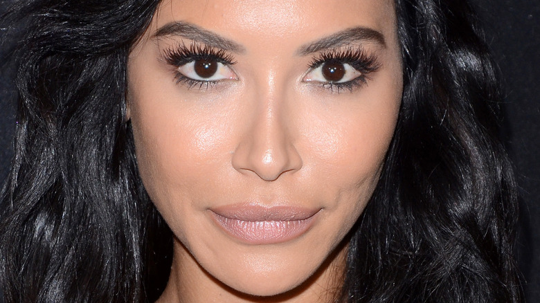 Naya Rivera with a neutral expression
