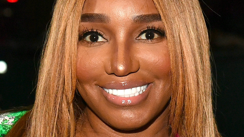 NeNe Leakes attends The Linnethia Lounge grand opening weekend on May 29, 2021