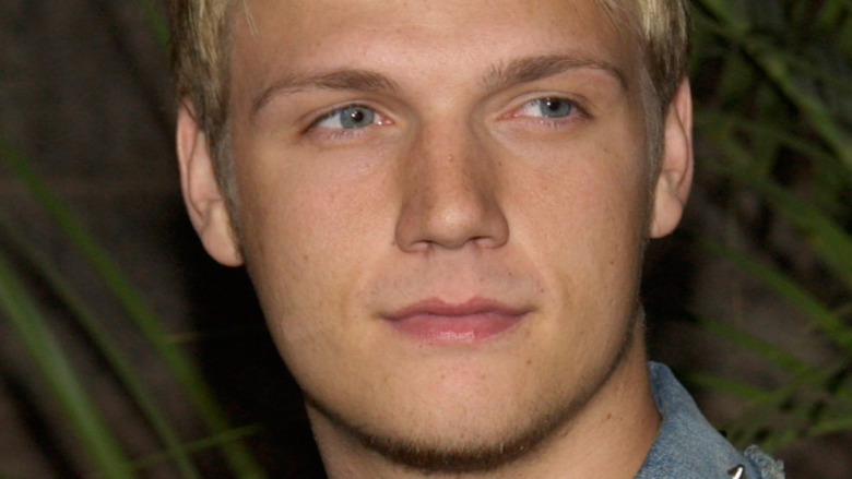 Nick Carter with a neutral expression