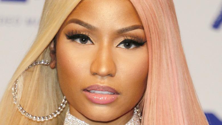 Nicki Minaj gazing in front